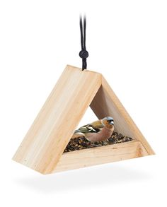 Rustic Bird Feeders, Bird House Feeder, Hanging Bird Feeders, Diy Bird Feeder, Homemade Bird Houses, Homemade Bird Feeders, Wooden Bird Houses, Bird Houses Diy, Platform Bird Feeder