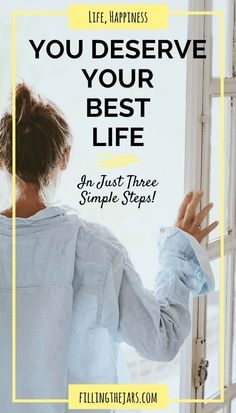 3 Steps to Build Your Best Life EVERY DAY | http://www.fillingthejars.com | Build Your Best Life with 3 steps  Planning, Simplifying, and Taking Action. Click through to learn how and download the bonus inspirational printable.