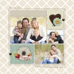 Ordinary Day - Horizontal TEMPLATE: 118558 By Cassie Balser 20 x 20 Wrapped Canvas Celebrate and preserve even the most ordinary of days wit...
