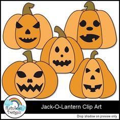 Free Jack-O-Lantern Clip Art