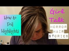How-to Foil Highlights / Gray Highlights Brown Hair With Highlights, Blonde Highlights, Hair Foils, Curly Hair Styles, Natural Hair Styles, Brown Blonde Hair, Hair Painting, About Hair, Hairstyles With Bangs