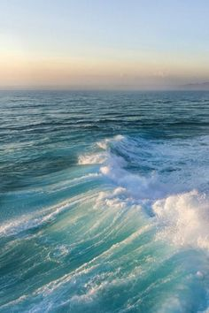 Turquoise | Teal | sea green | sunrise over horizon