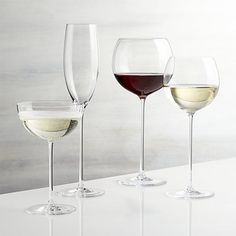Crate & Barrel Camille Wine Glasses - BestProducts.com