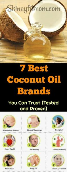 7 Best Coconut Oil Brands You Can Trust- These brands have been tested and they . 7 Best Coconut Oil Brands You Can Trust- These brands have been tested and they can be trusted. They work well for all uses. Coconut Oil Toothpaste, Coconut Oil For Teeth, Coconut Oil Pulling, Coconut Oil Hair Mask, Best Coconut Oil, Coconut Oil Coffee, Natural Coconut Oil, Natural Skin, Advantages Of Coconut Oil