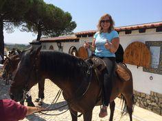 Momento Fantástico, a Primeira vez que a Paula montou num cavalo. Mais um Sonho Realizado :)