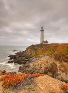 The Pigeon Point Lighhouse  by nick mangiardi, via 500px