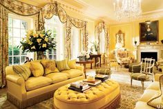Restoration expert Tiggy Butler renovated this terrace house in London's Mayfair district, which was originally built by architect Edward Shepherd; pictured is the living room. Farmhouse Living Room Furniture, Diy Living Room Decor, Dream Furniture, Living Room Designs, Home Decor, Classic Furniture, Living Rooms, Furniture Market, Furniture Movers