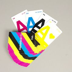 CMYK Helveticards Exclusive now featured on Fab.