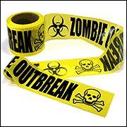 Zombie Outbreak Barricade Tape