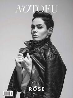 Rose McGowan Covers No Tofu Magazine Spring 2015