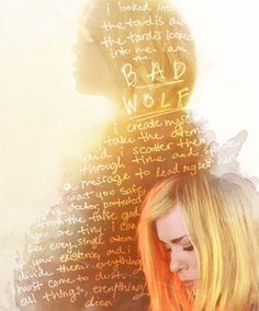 Bad Wolf; whoever did this is a bad ass. LOVE