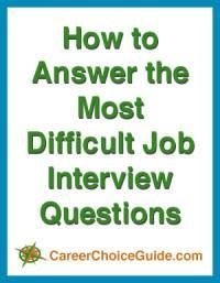 Answering difficult interview questions simply requires some good practice. Those common questions that frighten most job seekers don't have to trip you up or cause stress if you're well prepared. Difficult Interview Questions, Interview Questions And Answers, Job Interview Tips, Job Interviews, Resume Advice, Job Resume, Resume Ideas, Career Advice, Job Interview Preparation