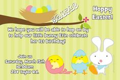 A Easter Wonder Invitations Easter Invitations, Diy Invitations, Hoppy Easter, Choose Me, Printing Services, Color Schemes, Software, Birthday, Prints