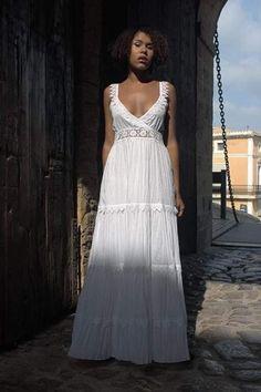 Best Summer Fashion Part 27 Boho Fashion, Fashion Dresses, Fashion Looks, Burgundy Dress, White Dress, Midi Sundress, Estilo Hippie, Summer Dresses For Women, Swing Dress