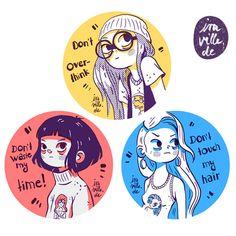 entre-las-sabanas:  Dont Sticker Set by Iraville