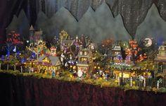 Halloween+Village+Display+Ideas | Dept 56 Halloween Village Display