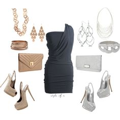 One Dress: Two Looks, created by styleofe on Polyvore