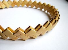 Birch Bark Headband Wrap Hair Braided by BirchBarkBarrette on Etsy