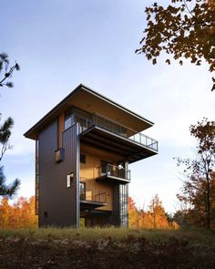 Love the height - might need an elevator! Balance Associates Architects, Glen Lake Tower
