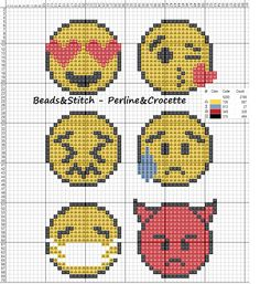 Manicure Pedicure Ponto Cruz 23 Ideas For 2019 Fuse Bead Patterns, Perler Patterns, Loom Patterns, Beading Patterns, Cross Stitching, Cross Stitch Embroidery, Cross Stitch Patterns, Plastic Canvas Crafts, Plastic Canvas Patterns