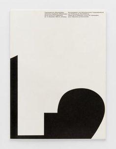 TM Typographische Monatsblätter, issue 12, 1962. Cover designer: Bruno Pfäffli, André Gürtler