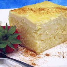 Pasta, Pastia, This Slow-Baked Creamy Egg Pudding Is Made With Ricotta And Pasta, And Flavored With Anise And Vanilla. Old Italian Recipes, Italian Desserts, Just Desserts, Italian Cookies, Italian Cake, Italian Dishes, French Recipes, Baking Desserts, Pasta Torte