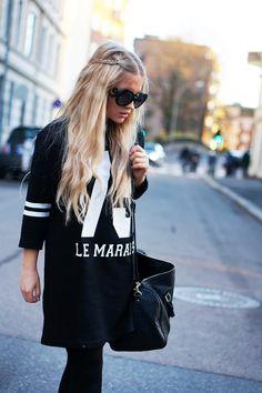 street style, streetwear, blonde