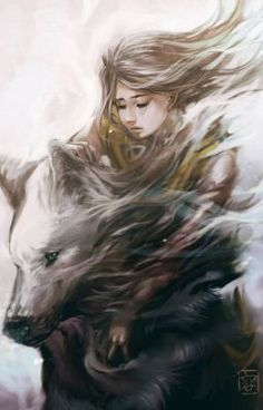 #wattpad #fantasy This story is about a girl and her ability to become a wolf, she has a rough start to her life but it unfold an amazing adventure of, love, power and everything in between. Slow updates, I'm sorry if this is not the greatest, I will have  some hiccups here and there please enjoy. I don't own any of... Wolf Spirit, Spirit Animal, Wolf Love, Anime Wolf, Foto Art, Amazing Art, Character Art, Illustration, Fantasy Art
