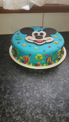Mickey mouse cake Mickey Mouse Cake, Sweet, Desserts, Food, Kitchen, Cooking, Meal, Deserts, Essen