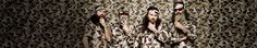 Duck Dynasty (yes, my father back in his 20s/30s would fit right in with these bearded men!)