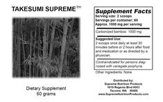 Takesumi by Supreme Nutrition 60 grams ** Click for Special Deals #LiverDetox Liver Detox, Supreme, At Least, Nutrition Products, Medical, Special Deals, Amazon, Ebay, Amazons
