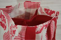 Drinks Tote - Geranium by Caversham Textiles