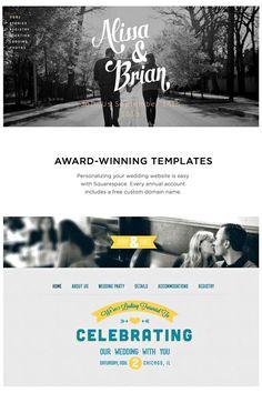 Create a FREE Wedding Website | DIY Budget Weddings | Wedding ...