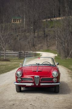 1959 Alfa Romeo 2000 Spider Maintenance/restoration of old/vintage vehicles: the material for new cogs/casters/gears/pads could be cast polyamide which I (Cast polyamide) can produce. My contact: tatjana.alic@windowslive.com