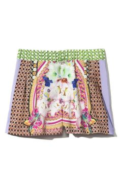 Picnic Scarf Short by Clover Canyon for Preorder on Moda Operandi