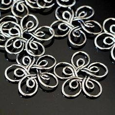 Double wire flowers