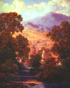 Maxfield Parrish - Sunlit Valley