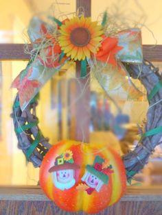 Fall Wreath DIY Crafts Tutorial