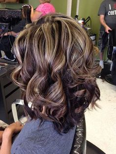 Short hair with blonde highlights and lowlights hair color ideas. Description from pinterest.com. I searched for this on bing.com/images