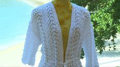 Ateliê na TV - REDE VIDA - 03.01.2017 - Claudia Maria Crochet Box, Dress Tutorials, Crochet Videos, Crochet Cardigan, Knit Jacket, Crochet Patterns, Knitting, Sweaters, Dresses
