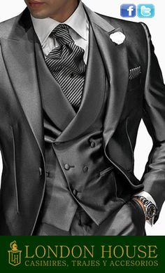 #PandoraNovia #PandoraRD Trajes de novio en Lima. Consigue una gran variedad de trajes de novio. Trajes de novio clasicos, trajes de novio modernos y tambien los trajes de novio tipo smooking http://www.londonhousecasimires.com/