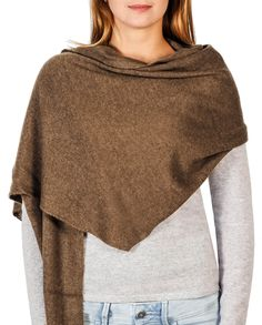 Kaschmir Schal trapez mocha front Men Sweater, Sweatshirts, Sweaters, Fashion, Cashmere, Scarves, Moda, Fashion Styles, Sweater