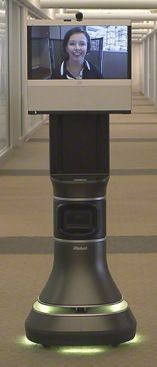 iRobot Ava 500: Next-Gen Telepresence Roll-About - Read the whole story at http://www.telepresence24.com/?p=2209