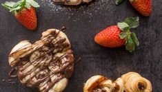 Easy Filled Puff Pastry Rose Hearts - An Italian in my Kitchen Puff Pastry Apple Pie, Nutella Puff Pastry, Rough Puff Pastry, Puff Pastry Desserts, Puff Pastry Recipes, Puff Pastries, Homemade Pie, Homemade Cookies, Delicious Desserts