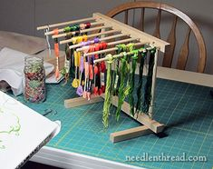 Tool Time! Noodles 'n Thread – and Repurposing - NeedlenThread.com» Mary Corbet's Needle 'N Thread