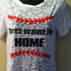 I want this. But I thought you'd enjoy this idea too @Ashley Barkley Baseball Mom Shirts, Softball Mom, Baseball Games, Baseball Stuff, Baseball Gear, Sports Shirts, Baseball Girlfriend, Softball Quotes, Baseball Crafts