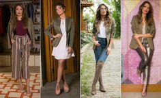 Patrícia Poeta mostra a versatilidade do blazer em looks modernos e estilosos (Foto: Raphael Dias/Gshow)