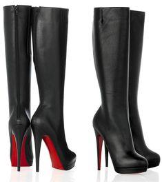 botas negras elegantes
