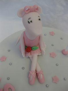 angelina ballerina cake - Google Search