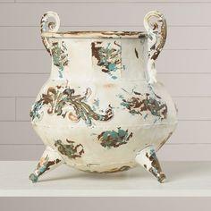 Cranes Vase